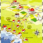 Il Territorio: La cartina