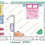 Le Camere: Piantina Nido