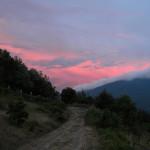 Il Territorio: Cielo infuocato a Tara